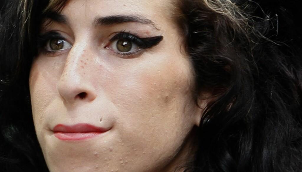 TRAGISK DØD: Amy Winehouse ble bare 27 år gammel.  Foto: AP