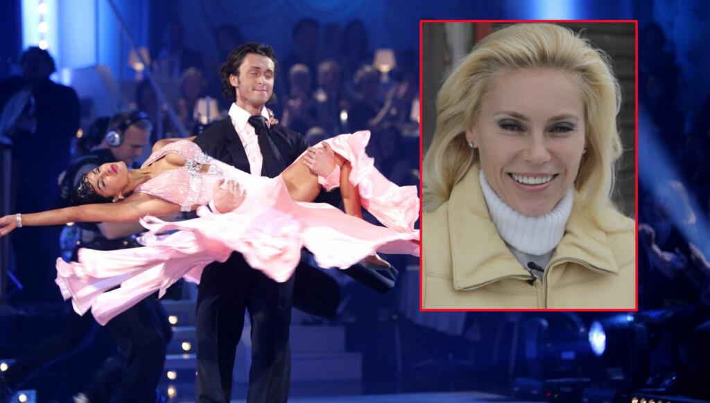 KLAR FOR PARKETTEN: Ifølge en kilde med innsyn i TV2-produksjonen, skal den svenske TV-stjernen Anna Anka (innfelt) være aktuell som en av deltagerne i høstens sesong av «Skal vi danse». Her svinger Aylar Lie, som kom på annenplass høsten 2010, seg Foto: Scanpix