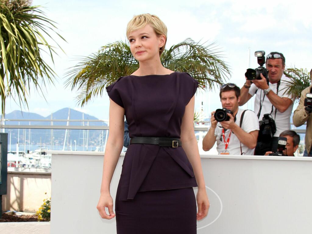 FORLOVET: Carey Mullighan er forlovet med kjæresten Marcus Mumford. Her fra filmfestivalen i Cannes 2010.  Foto: All Over Press