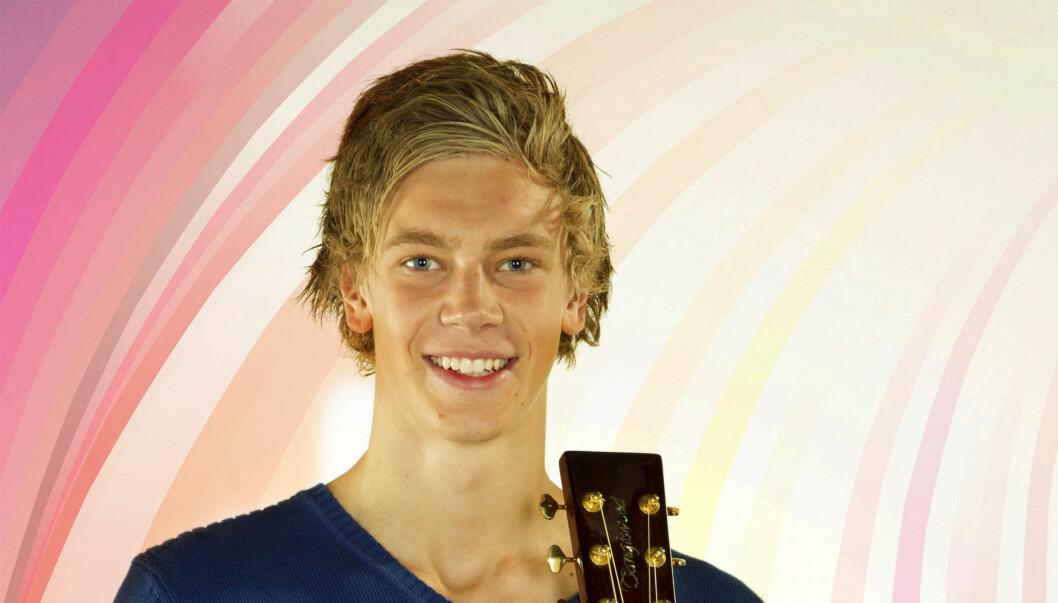 Lars Møll Kleiven (17) fra Trædal. Foto: Foto: Se og Hør. Styling:  Annelie Lindwall (KappAhl)