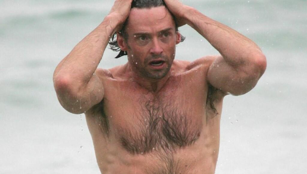 FLOTT KROPP: Skuespilleren har en veltrent kropp, men liker ikke treningen som må til. Foto: All Over Press