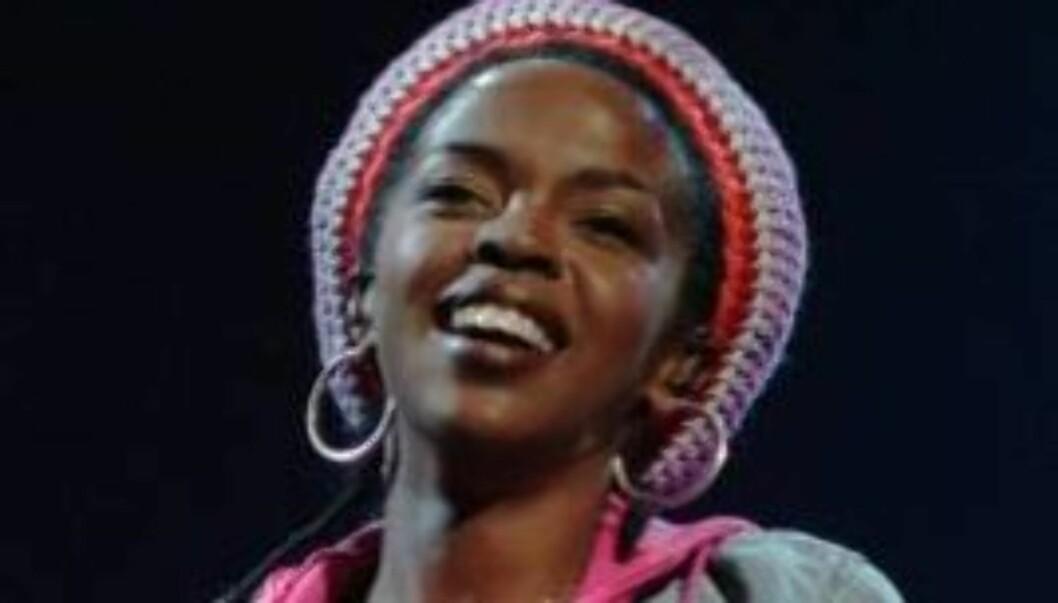 SLÅR TILBAKE: - I motsetning til diverse skriverier den siste tiden, forlot ikke Mr. Marley meg mens jeg var gravid med dette barnet, skriver Lauryn Hill på Twitter. Foto: AP