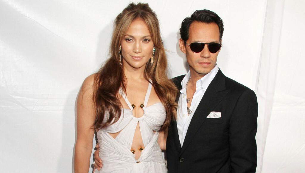 SKILLES: Jennifer Lopez og Marc Anthony. Foto: Stella Pictures