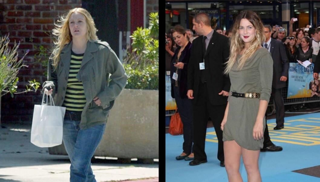FORVANDLING: Drew Barrymore ser bedre ut enn på lenge.  Foto: Stella Pictures