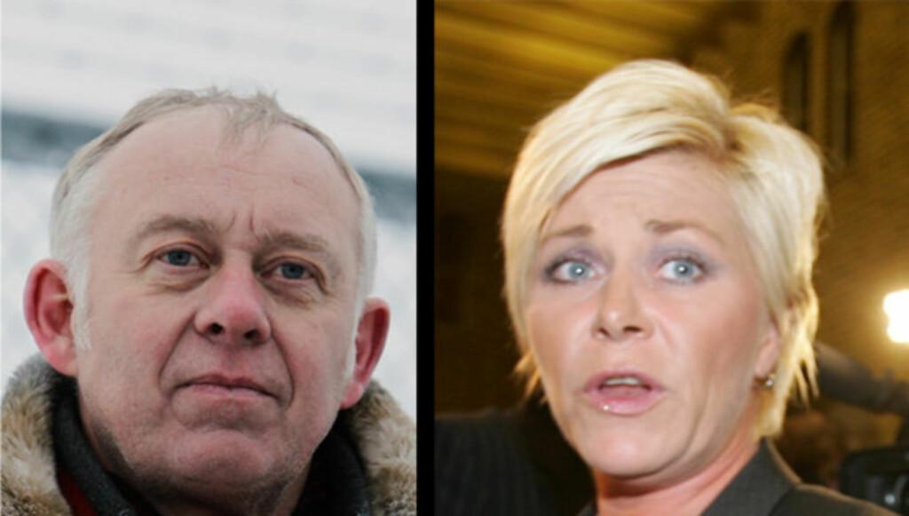 KRISTISK: Petter Nome skriver i et debattinnlegg at han mener Siv Jensen og andre ledere for høyrepopulistiske partier må ta noe ansvar for terrorangrepene i Oslo og på Utøya. Foto: SCANPIX / Stella Pictures