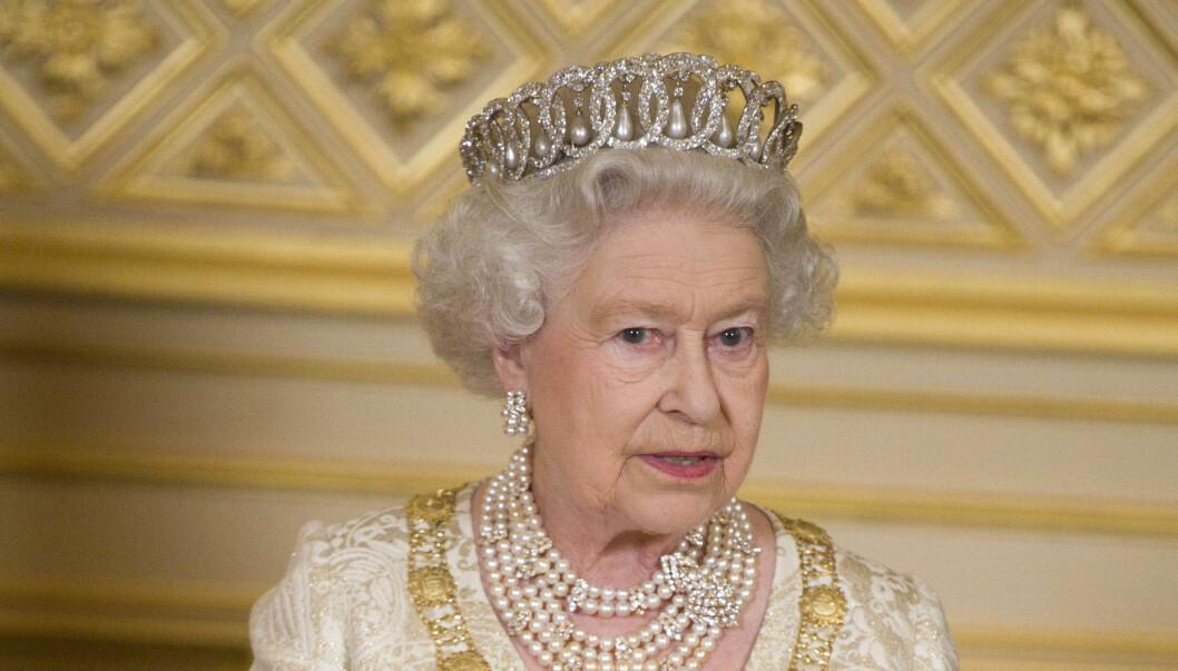 SOLGTE NUMMERET: Dronning Elizabeths telefonnummer ble solgt for 9000 kroner.  Foto: Stella Pictures