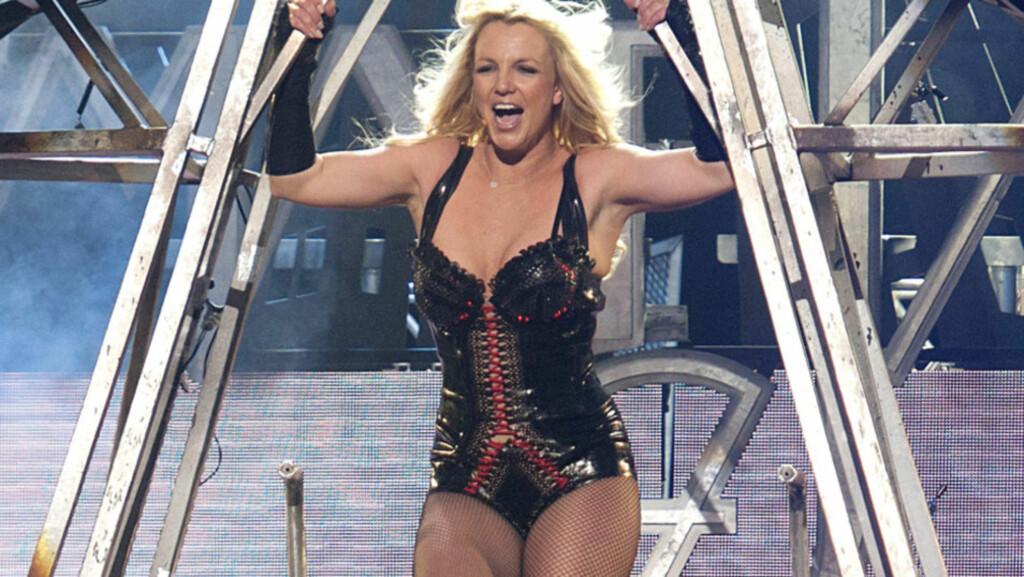 PÅ BILLIGSALG: Billetter til Britneys turné selges angivelig til sterkt reduserte priser på rabattnettsted. Foto: All Over Press