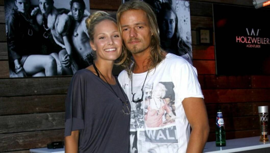 LYKKELIG: Dorthe Skappels datter giftet seg med Andreas Hollzweiler, og utbrøt at hun var svært lykkelig etter vielsen. Foto: Stella
