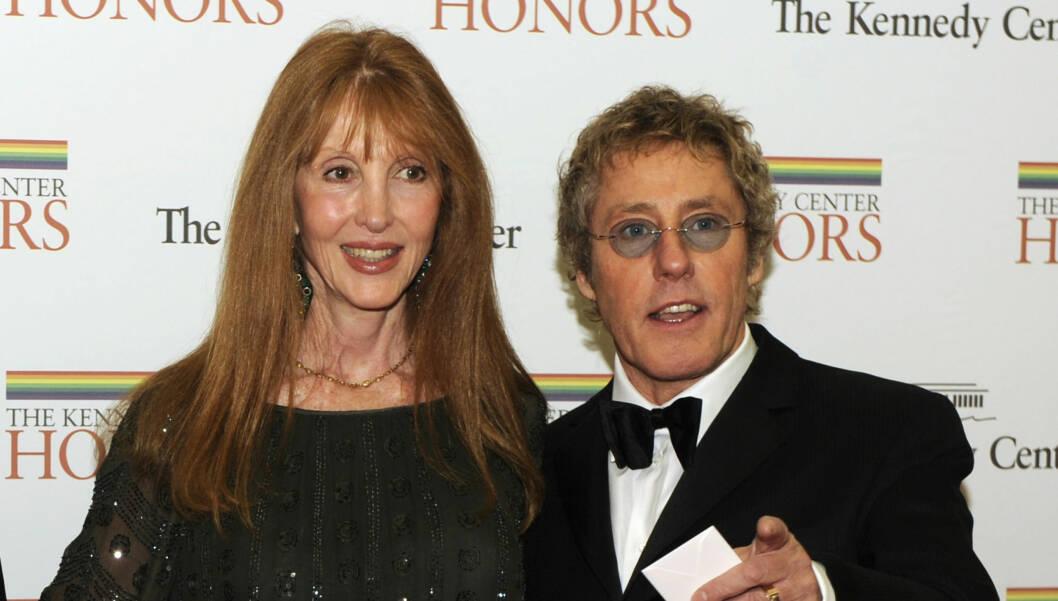 GIFT I 40 ÅR: Roger Daltrey fikk lov å være utro av kona Heather Taylor da han turnerte med «The Who». Fortsatt er de gift og har tre barn sammen.  Foto: REUTERS