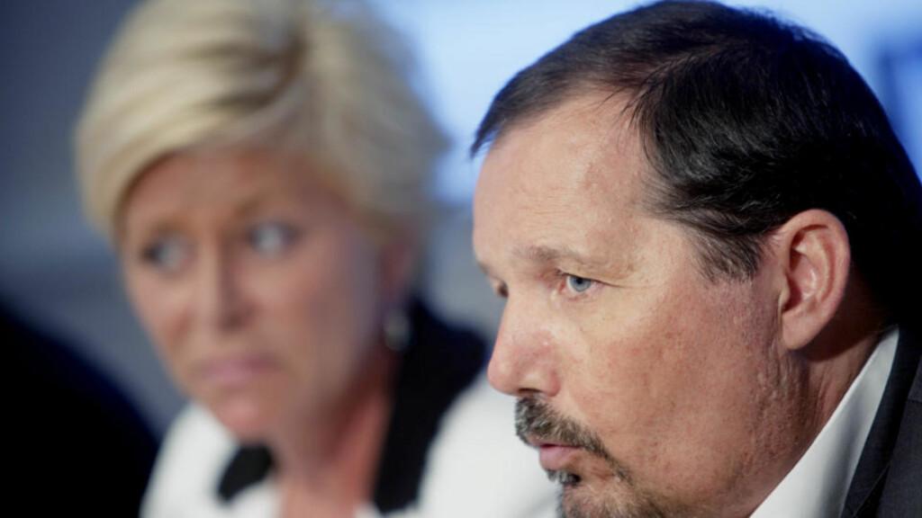 FIKK GRATIS GARASJE: Fremskrittspartiets nestleder  Per Arne Olsen. Foto: Stian Lysberg Solum / SCANPIX