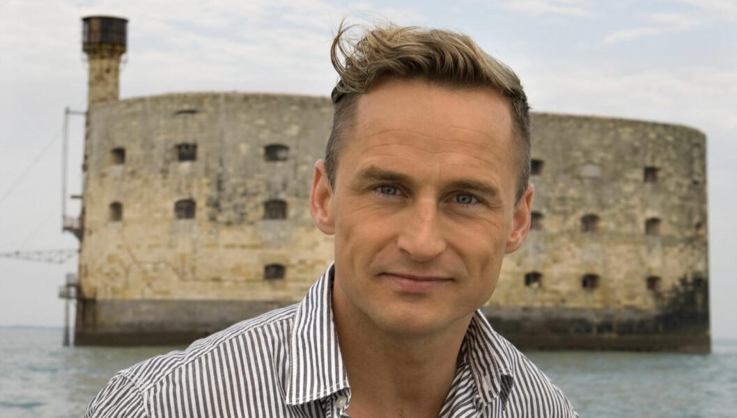 PROGRAMLEDER NR. 2: Daniel Franck er også programleder for Fangene på Fortet, og altså ikke personen som ble sendt hjem. Foto: TV3