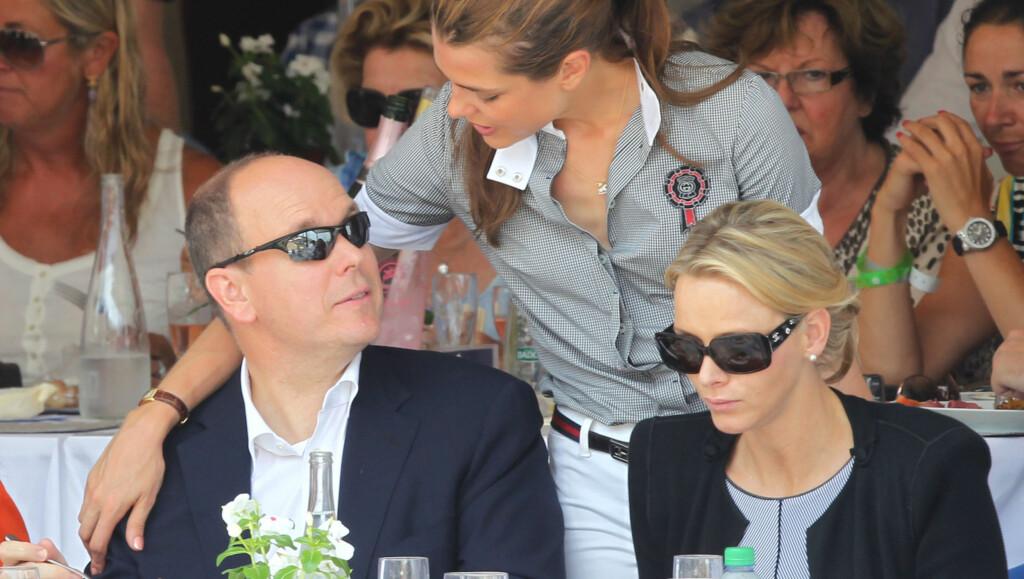 - STAKK AV: Den franske avisen L'Express hevder Charlene Wittstock skal ha stukket av før bryllupet. - Galskap, sier presseansvarlig ved Monacos slott. Foto: All Over Press