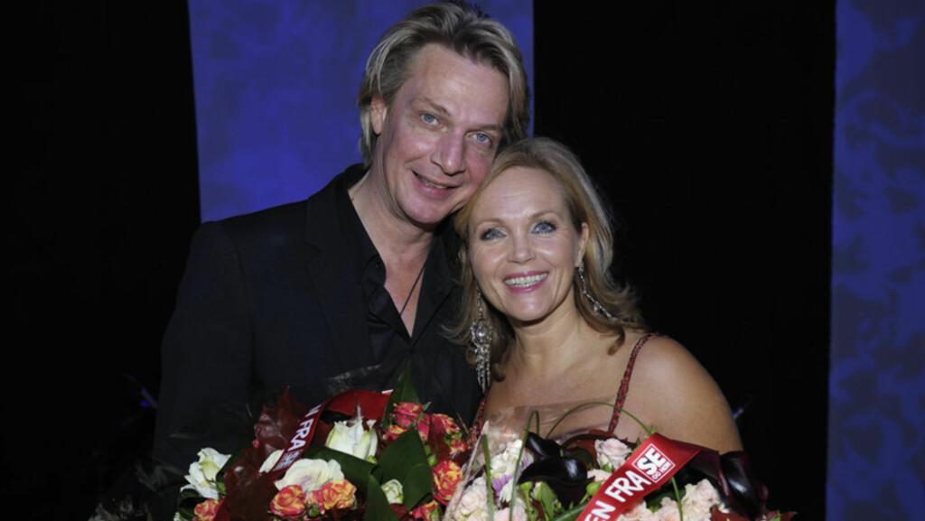 BLIR PAPPA: Den svenske artisten Tommy Nilsson (t.v), som har hatt et musikalsk samarbeid med norske Guri Schanke (t.h) i en årrekke, skal nå bli far for femte gang.  Foto: Se og Hør