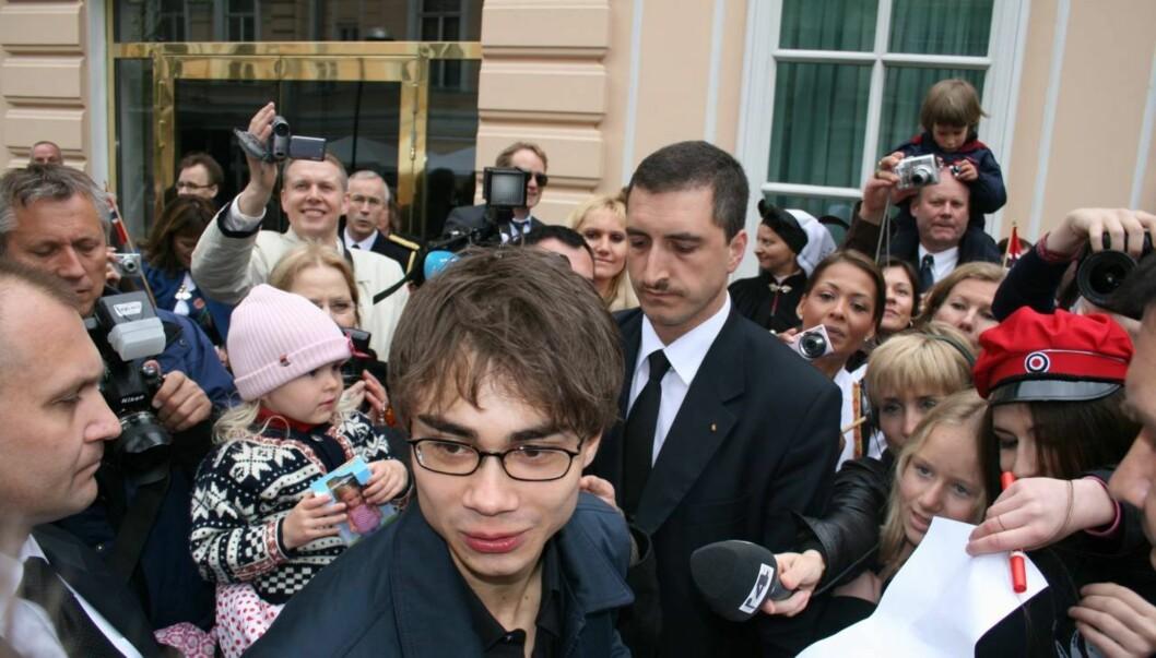 HYSTERI: Alexander Rybak var på alles lepper etter at han i 2009 vant den internasjonale finalen i Eurovision Song Contest.  Foto: Anders Myhren / Seher.no