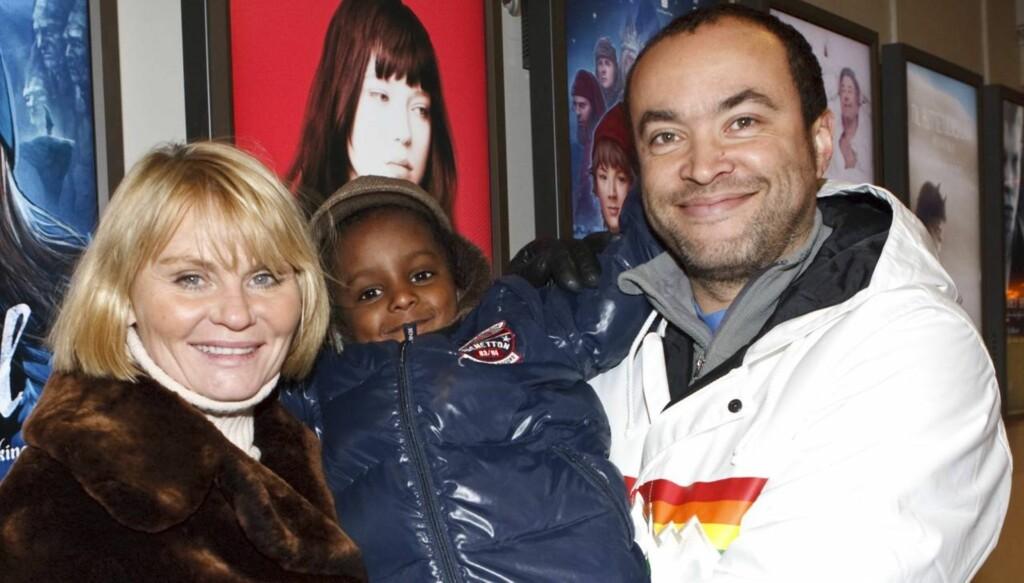 FIKK STOREBROR: Mia og Marcel er fra før foreldre til seks år gamle Daniel. Nå har han fått en storebror. Foto: Scanpix