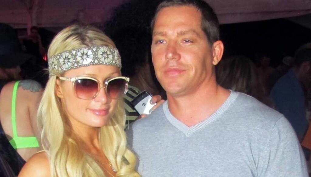 SLUTT: Etter litt over ett år sammen, skal det være slutt mellom Paris Hilton og kjæresten Cy Watts. Foto: All Over Press