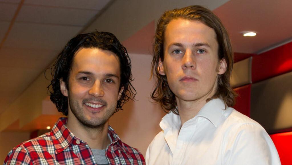 LAGER TALKSHOW: Ylvis-brødrene Vegard og Bård Ylvisåker er til høsten aktuelle med nytt talkshow på TVNorge. Foto: Stella Pictures