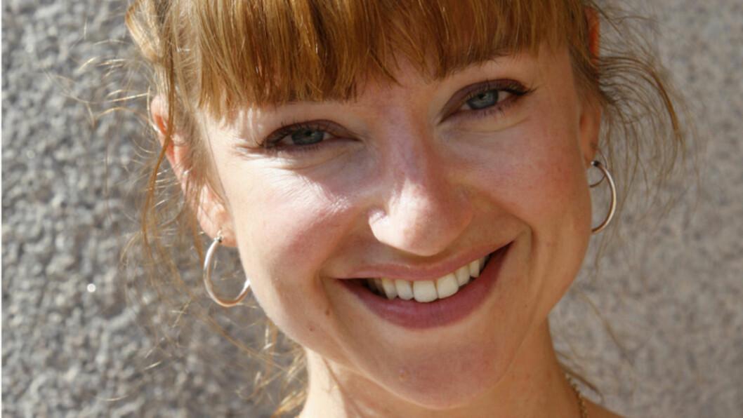 <strong>DRIFTIG DAME:</strong> Skuespiller Andrea Bræin Hovig står på scenen som Hedda Gabler, spiller i filmer, skriver barnebøker - og føder barn nummer to mellom slagene. Nå er det ektemannen som må være hjemme på foreldreperm.  Foto: SCANPIX