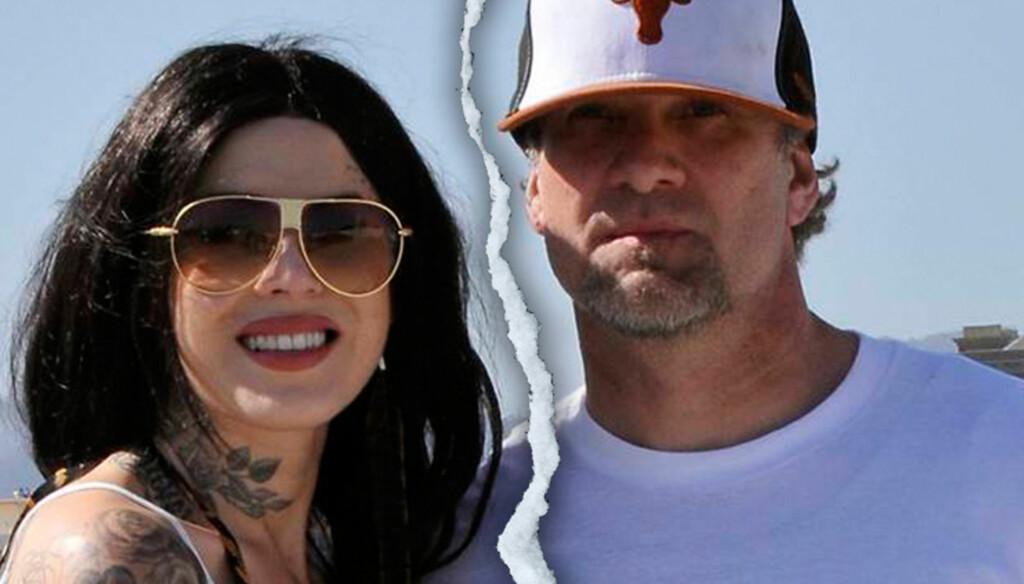 GÅR HVER SIN VEI: Bladet Life & Style hevder at TV-stjernene Kat von D og Jesse James skal ha avbrutt sin forlovelse. Foto: All Over