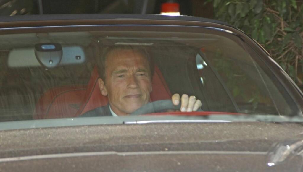 RØMMER FRA HOLLYWOOD: Arold Schwarzenegger hevder at det er Mozart og wienerschnitzler som gjør at han nå flytter tilbake til Østerrike.  Foto: All Over Press