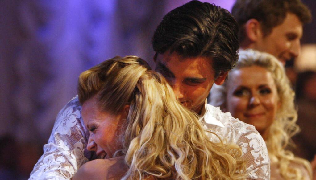 2008: Det var en mye sunnere og sprekere Lena Alexandra Øien som deltok i «Skal vi danse» i 2008. Foto: SCANPIX