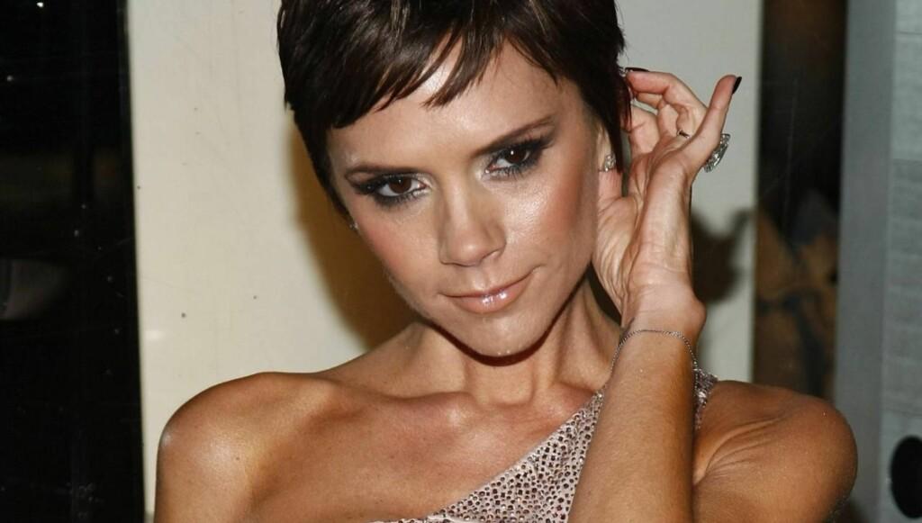 SPISER MYE: Ramsay hevder Victoria Beckham spiser mer enn nok. Foto: All Over Press