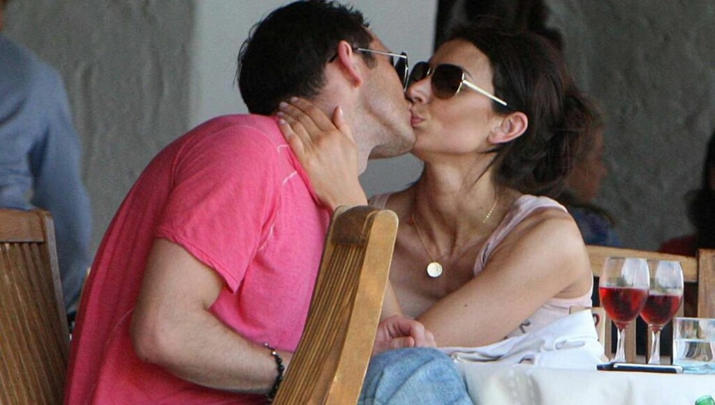 PÅ FERIE: Lampard og Christine Bleakley forlovet seg på ferie i California. Foto: All Over Press