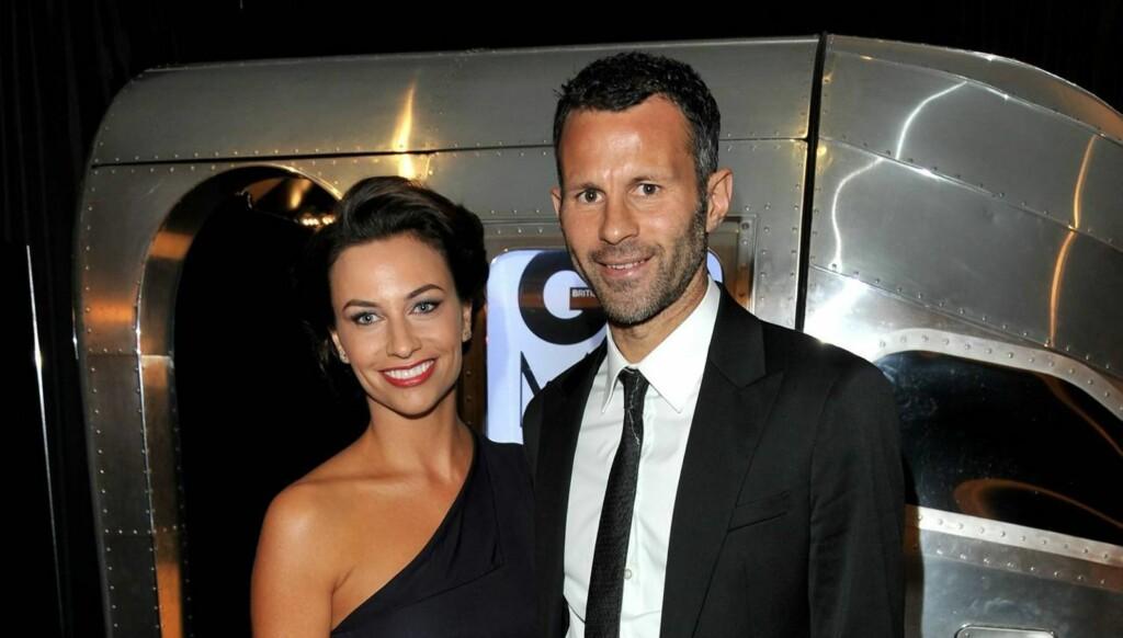PRØVER Å REDDE EKTESKAPET: Ryan Giggs og kona Stacey Cook har for tiden søkt tilflukt i Spania i et forsøk på redde ekteskapet etter utroskapspåstandene. Foto: All Over Press