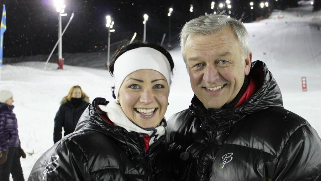 TV-FLOPP: Denne vinteren var Hallvard Flatland programleder for TV3s storsatsning «Landskampen» sammen med Marte Kaasa Artnsen. Med svært lave seertall uttrykte TV3s programdirektør misnøye over publikums oppslutning av programmet. Foto: Anders Myhren/Seher.no
