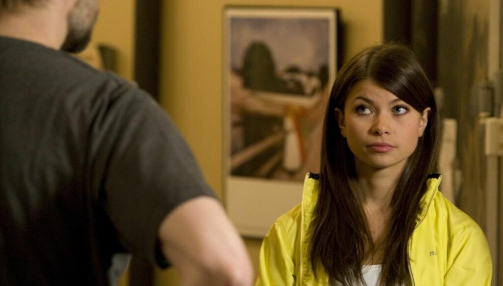 POPULÆR: Marte Sæteren har fått mye oppmerksomhet etter at hun dukket opp som 16-åringen Vanessa Nyman i «Hotel Cæsar». Foto: TV 2