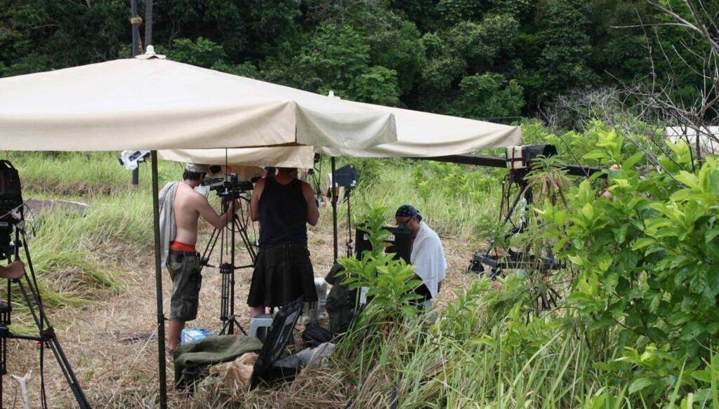 DRAMATISK INNSPILLING: Robinsonekspedisjonen har møtt flere vansker under årets innspilling på Filippinene, blant annet måtte deltagerne evakueres på grunn av syklon. Dette bildet er fra fjorårets innspilling i Malaysia. Foto: Sølve Hindhamar, Seher.no
