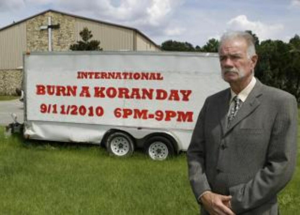 STÅR PÅ SITT: Pastor Terry Jones. Foto: AP/Scanpix