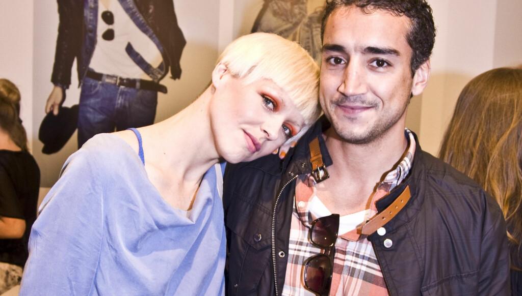 NYTT PAR: Mariann Thomassen har blitt sammen med Jørgen El Fakiri. De viste seg sammen for første gang under en butikkåpning Torsdag. Foto: Stella Pictures