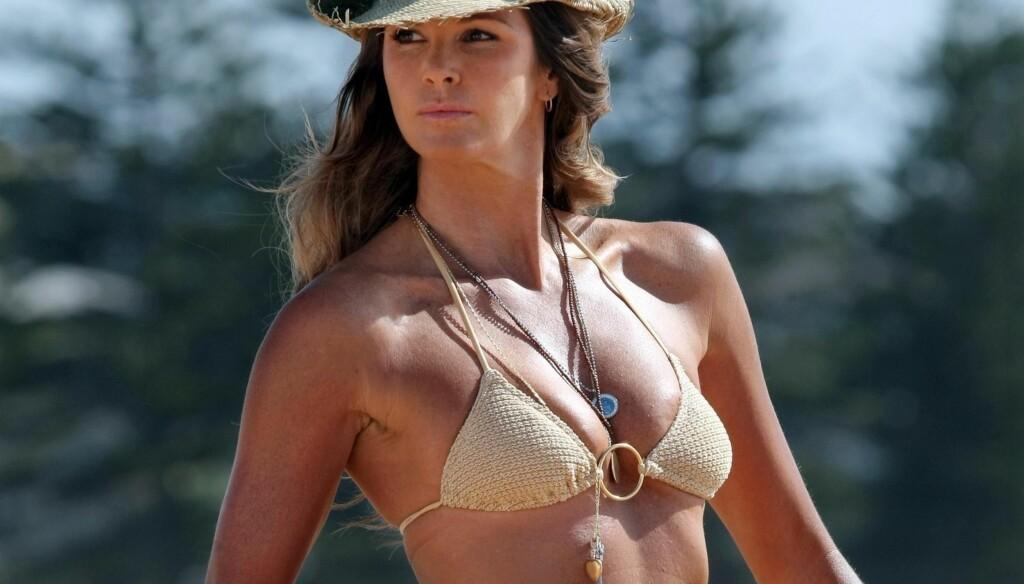 SPORTY: Skjønnhetens vakre kropp har gitt modellen tilnavnet The Body. Foto: Stella Pictures