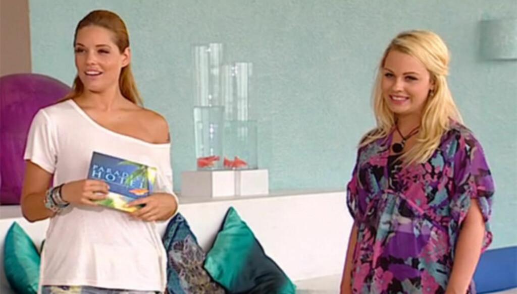 FIKK SJOKK: Paradise-nykommeren Bianca Klemetsen sier til Seher.no at hun fikk sjokk da hun så seg selv på TV i mandagens episode av realityserien.
