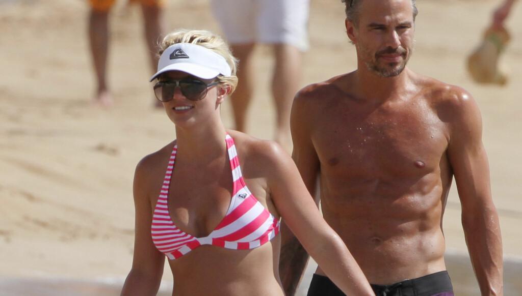 ULOVLIG: Britneys far, Jamie Spears, kan ikke være Britneys verge dersom hun skal inngå et gyldig ekteskap med Trawick. Foto: All Over Press