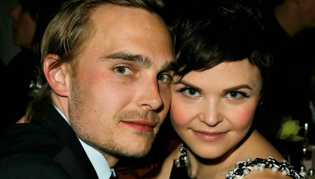 TOK SLUTT: Joey Kern og Ginnifer Goodwin forlovet seg i desember. Men bryllup blir det ikkenoe av. Foto: All Over Press