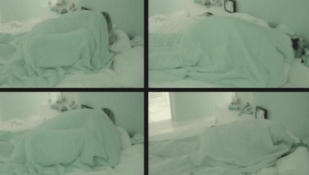 HYRDESTUND NUMMMER TO: To måneder etter at de hoppet til sengs foran «Paradise Hotel»-kameraene, ble det igjen hete scener mellom Maren Kallhovd og Kim Høgås Hansen. Foto: TV3