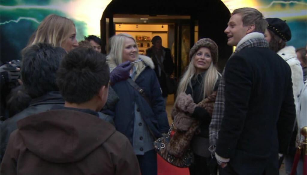 CÆSAR-DEBUT: Slik så det ut da Linni Meister debuterte som skuespiller i «Hotel Cæsar» Foto: TV 2