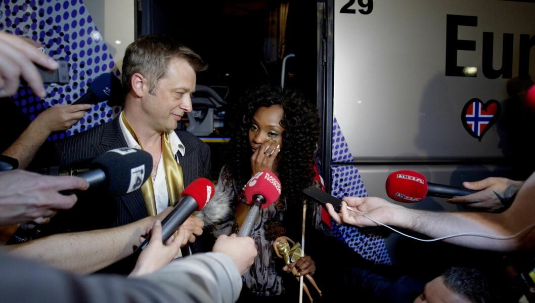 UTE: Stella Mwangi får ikke representere Norge under Eurovision-finalen førstkommende lørdag. Foto: SCANPIX