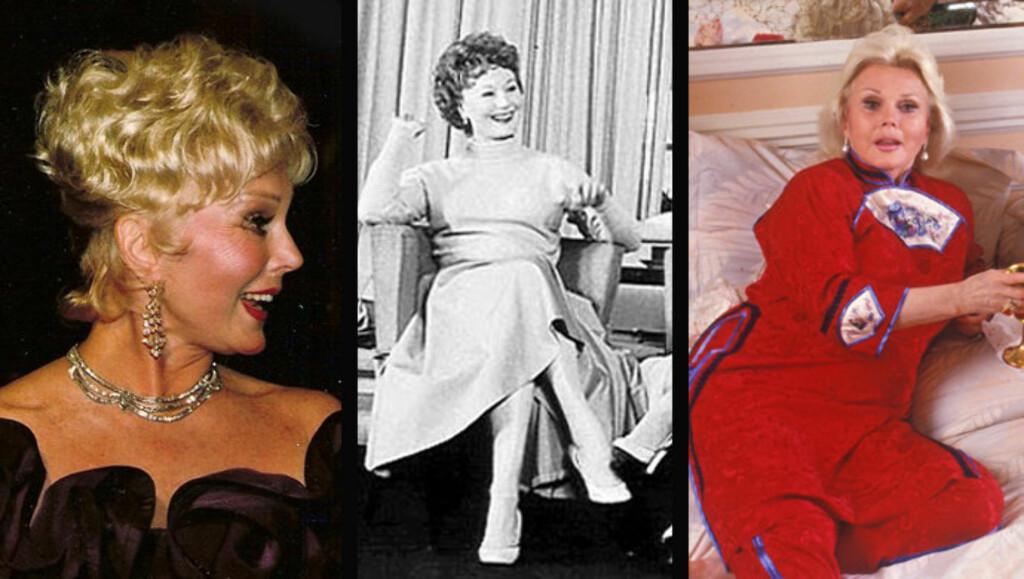 GIFTESYKE: Søstrene Eva, Magda og Zsa Zsa Gabor kunne alle gjort karriere som bryllupsplanleggere, hvis de ikke var blitt skuespillere. Til sammen har de tre søstrene vært gift 20 ganger!