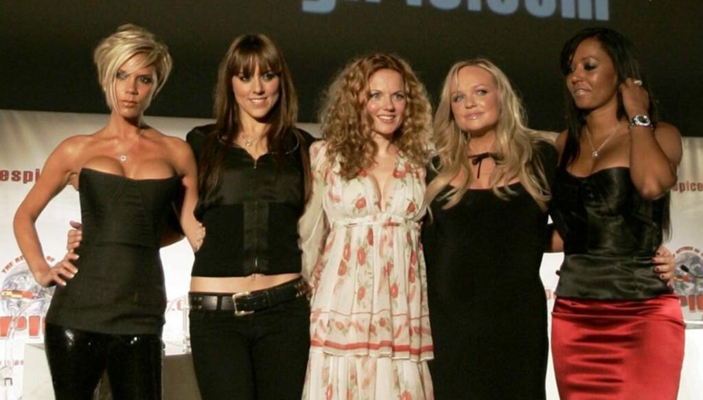 HAVNET I SLANKEHYSTERI: Suksessen med Spice Girls hadde sine baksider, og for Melanie Chisholm gjorde livet i rampelyset at hun ble sykelig opptatt av eget utseende. Foto: AP/Scanpix