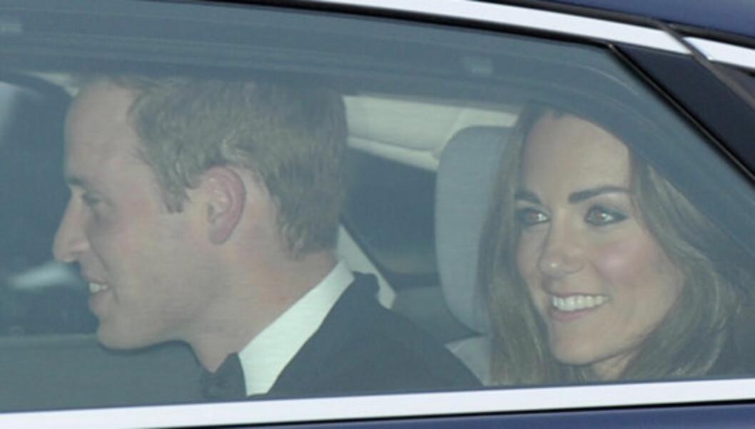 REISTE I HEMMELIGHET: Prins William og Kate Middleton forlot Storbritannia i hemmelighet, for å nyte sin bryllupsreise i fred og ro. Foto: Reuters
