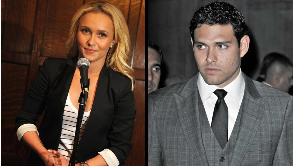 IKKE SAMMEN: Skuespilleren ble koblet til Mark Sanchez, men hevder de kun er venner. Foto: All Over Press