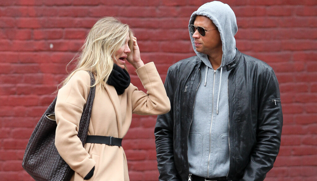 BRUDD: Det er over mellom Cameron Diaz og Alex Rodriguez. Foto: All Over Press