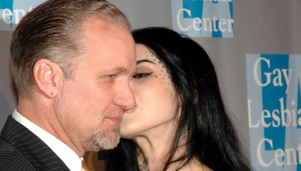FORELSKET: Jesse James hevdet i et radiointervju at hans nye forlovede Kat von D (bildet) er mye mer livlig på soverommet enn eks-kona Sandra Bullock. Foto: All Over Press