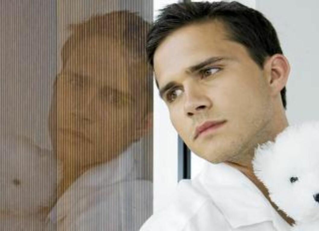 ENSOMHET: Ensomhet får skylda for at mange avholdspersoner lever kortere enn de som har et moderat lakoholforbruk. Illustrasjonsfoto: www.colourbox.com