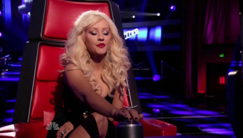 SJOKKERTE: Christina Aguilera sjokkerte publikum med sine friske påstander. Foto: All Over Press