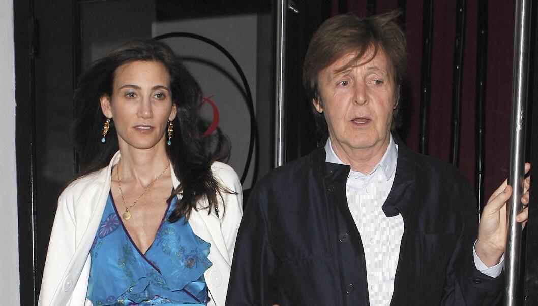 <strong>FORLOVET:</strong> Nancy Shevell (51) er kun tre år eldre enn Paul McCartneys eldste datter Heather (48). Foto: All Over Press