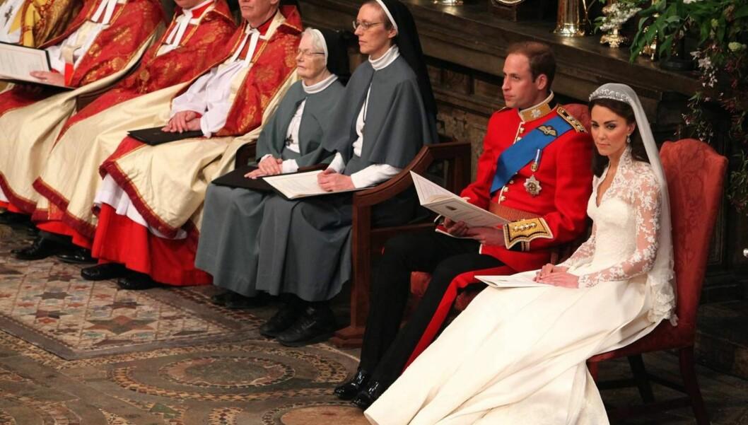 <strong>GIFTET SEG:</strong> Prins William og Kate Middleton giftet seg mens en hel verden så på forrige uke. Foto: All Over Press